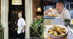 Win a Dinner for Two at Le Gavroche